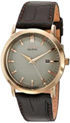 Citizen Men's BM7193-07B Brown Leather Strap Eco-Drive Watch