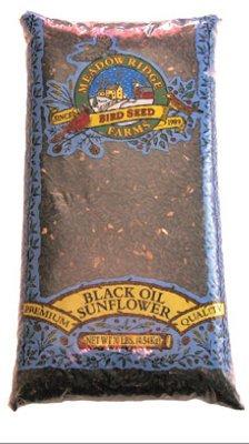 Jrk Seed & Turf Supply B110010 Black Sunflower Wild Bird Food, 10-Lbs. - Quantity 80