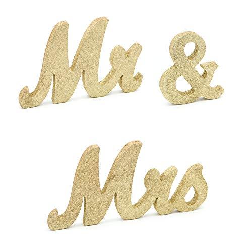 freestanding glitter letters - 3
