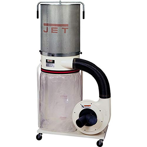 Jet DC-1100VX-CK Dust Collector 1.5HP 1PH 115 230-Volt 2-Micron Canister Kit