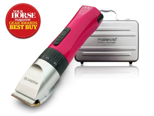Masterclip Award Winning Showmate Horse Clipper Trimmer in Pink