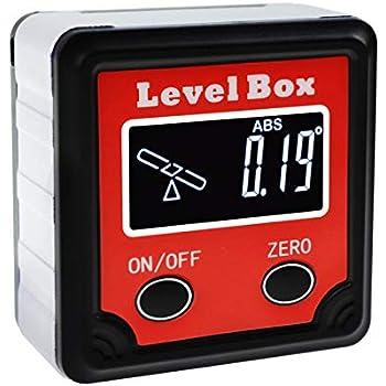 Digital Bevel Box 360 176 4 X 90 176 Angle Finder W Tilt