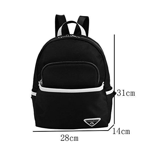 Mummy Bag Multi-funcional de gran capacidad de mochila Simple Madre Pequeña paquete de la madre y el niño paquete ( Color : Azul oscuro ) Azul zafiro