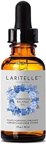 Laritelle Organic Hormonal Balance & Thyroid Support Treatment 1 oz   Fights Hormonal Imbalance, Supports Endocrine System  Normalizes Hormonal Imbalances of the Thyroid   Rejuvenating, Age Defying
