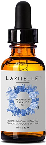 Laritelle Organic Hormonal Balance & Thyroid Support Treatment 1 oz | Fights Hormonal Imbalance, Supports Endocrine System| Normalizes Hormonal Imbalances of The Thyroid | Rejuvenating, Age Defying