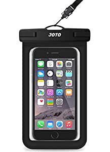 Universal Waterproof Case, JOTO CellPhone Dry Bag Pouch for Apple iPhone 6S, 6, 6S Plus, SE, 5S, Samsung Galaxy S7, S6 Note 7 5, HTC LG Sony Nokia ...
