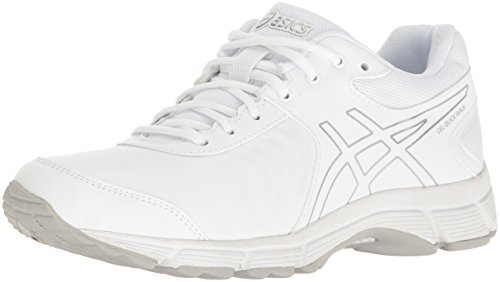 ASICS Women's Gel-Quickwalk 3 SL Walking Shoe, White/Silver/White, 8 M US