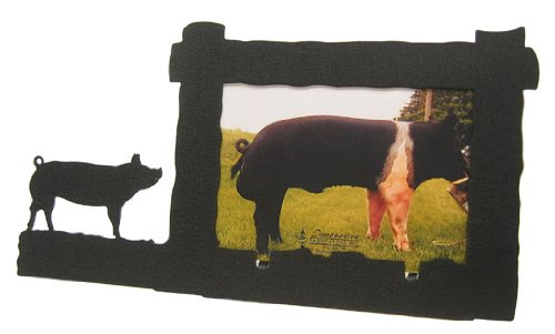 Pig 4X6 Horizontal Picture Frame by Innovative Fabricators, Inc.