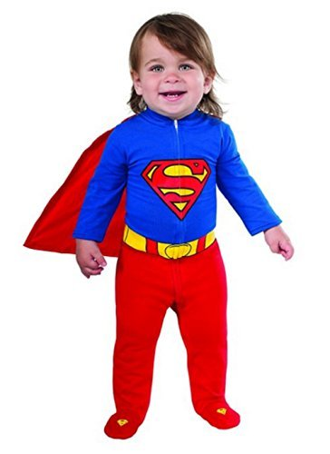 Superman Newborn Costumes (Superman Onesie Baby Costume)