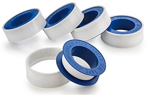 Teflon Thread Seal Tape - 5 Pack 1/2
