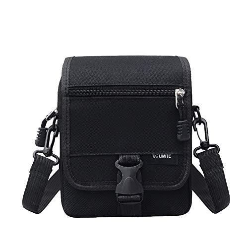Nylon Black AgooLar Bags Bags Casual Crossbody Women's GMDBA217517 0R8qt