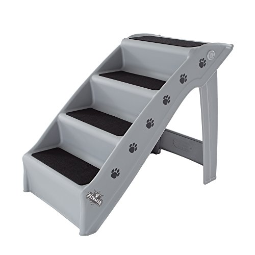 Folding Plastic Pet Stairs Durable Indoor