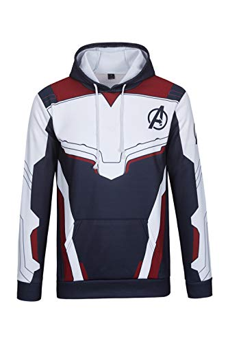 TRIFUNESS Superhero Pullover Hoodie Tech Jacket Sweatshirts Cosplay Costume