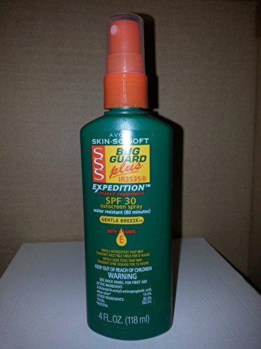 Avon Skin so Soft Bug Guard Plus Expedition SPF 30 Pump Spray, 4 Ounce