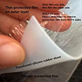 Translucent High Temp Thin Silicone Rubber Sheet