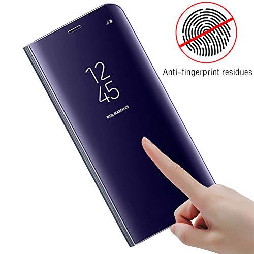 Huawei Intégrale Etanche Telephone Compatible Miroir 10 Mate Etui choc Flip Case 360° Coque Ultra Bakicey Pour Anti Mince Housse Argent rayures Pro Pc Anti Protection OA6BtnqnF
