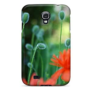 Flexible Tpu Back Case Cover For Galaxy S4 - Growing Plants