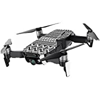 MightySkins Skin for DJI Mavic Air Drone - Black Aztec | Min Coverage Protective, Durable, and Unique Vinyl Decal wrap cover | Easy To Apply, Remove, and Change Styles | Made in the USA