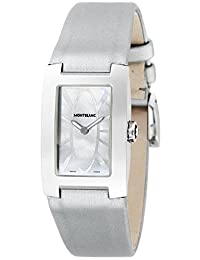 MONTBLANC watch PROFILE white pearl dial 106169 Ladies