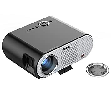 Wewoo - Proyector LED Negro 350lux 1280 * 800 HD Proyector con ...