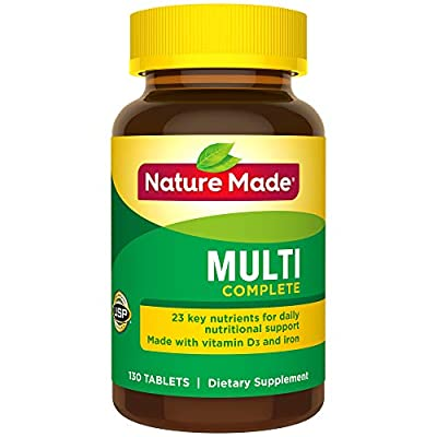 Nature Made Multi Complete Vitamin and Mineral