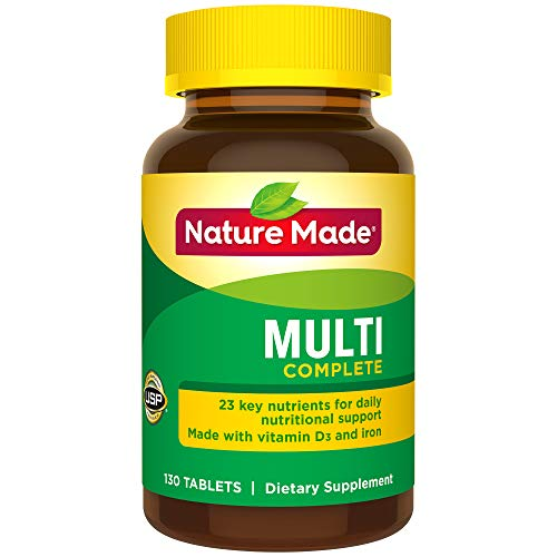 Nature Made Multi Complete with Iron 130 Tablets | Product