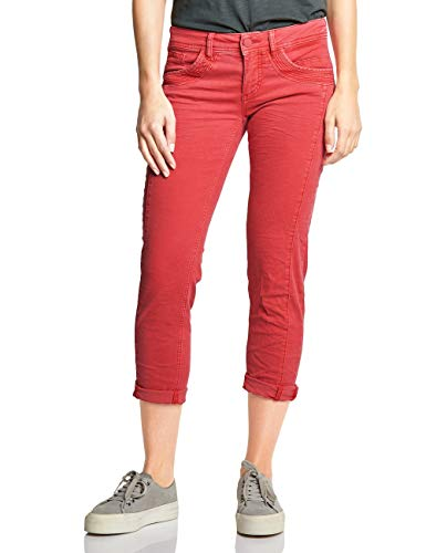 Slim vivid Rot Red Washed Donna One Jeans 11821 Street F4vSqHH