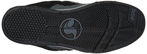 Shoes DVS Uomo Charcoal Skateboard Heir Black Enduro da 023 Nubuck Grigio Scarpe 7HgHx