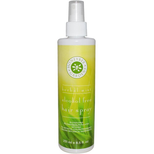 New - Honeybee Gardens Hair Spray -Alcohol Free - Herbal ...