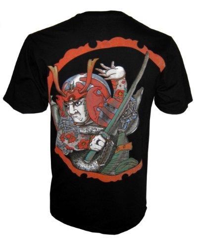 Ronin T-Shirt Miyamoto Musashi Tattoo Dragon Martial Arts Vintage Size M - XL (M)