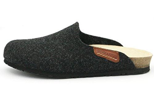 Para Textil De Casa Yin108 Estar Mujer Por Gris Mephisto Zapatillas Aq0xgnP