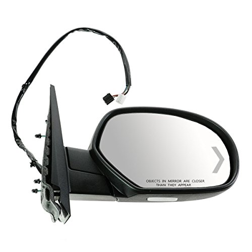 Heated Right Power Mirror (Mirror Power Folding Heated Memory Puddle Signal Right RH for GM Pickup SUV)
