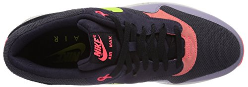 Nike Air Max 1 Essential - Scarpe da ginnastica da uomo Multicolore (Cave Purple/Frc Green)