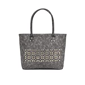 Alessia74 Women's Tote bag (Dark Grey)(SU010D)