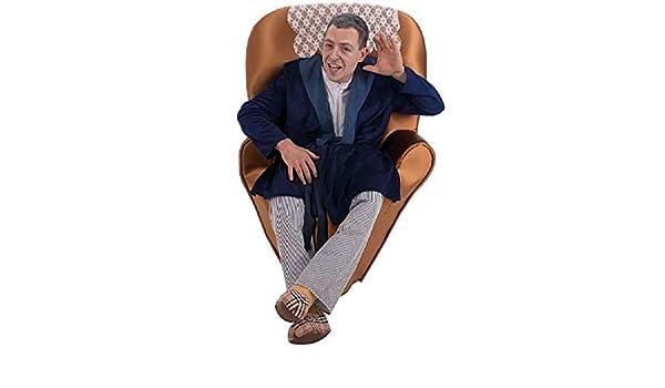 Nines dOnil Disfraz de Abuelo en el sillón para Hombre: Amazon.es ...