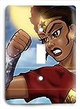 Black Wonder Woman v2 Light Switch