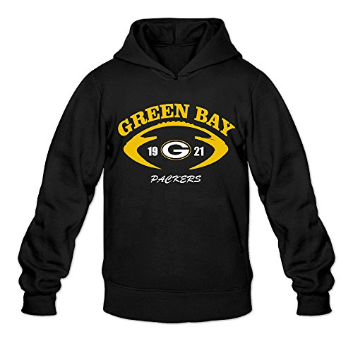 [AK79 Men's Sweater Green Bay Logo Packers Size L Black] (Nerd Costumes At Party City)