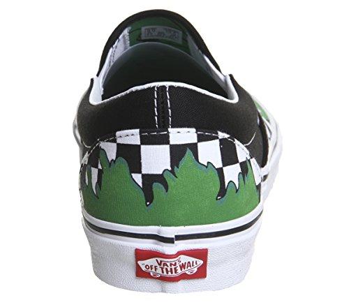 on Slip Checkerboard Marvel Vans Hulk Hulk Sneaker Weiß Schwarz pSwaPqx4