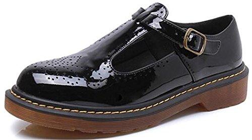 Bas Femme Chaussures Appartements Taille Pour 5 Mary Talon Noir Big Noir 36 Janes Dadawen 8zdqwaqT