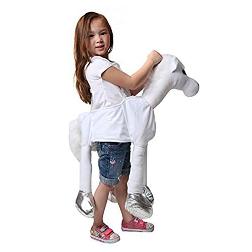 White Ride On Horse Costume ()