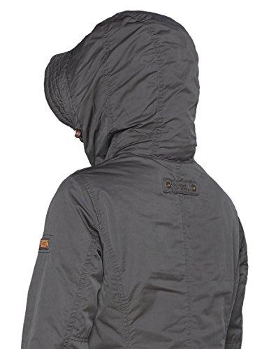 Grey Active Femme Womenswear Camel 6 Blouson Grau wX67W4zpq