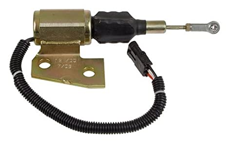 Tractor Parts NEW Fuel Solenoid for Case International 5250