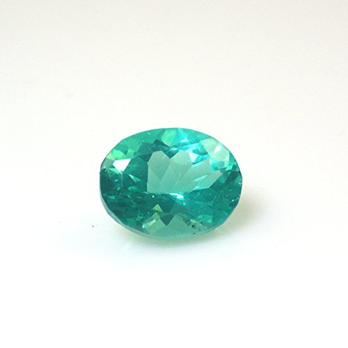 Paraiba Apatite Oval 10x7mm Single Piece Approximately 3.39 Carat Beautiful Color Nice Luster (9589)