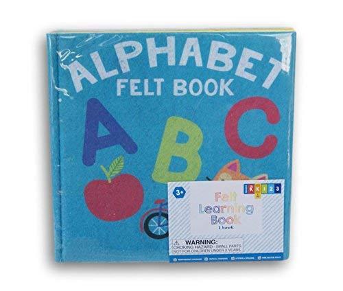 Horizon Alphabet Felt Busy Book for Grade K - 8'' x 8''
