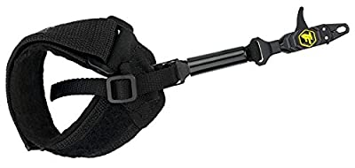 TruFire Patriot Archery Compound Bow Release - Adjustable Black Wrist Strap…