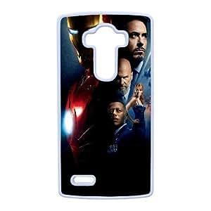 Design Cases Shell LG G4 Cell Phone Case White kino zheleznyj elovek iron man Srlfj Printed Cover