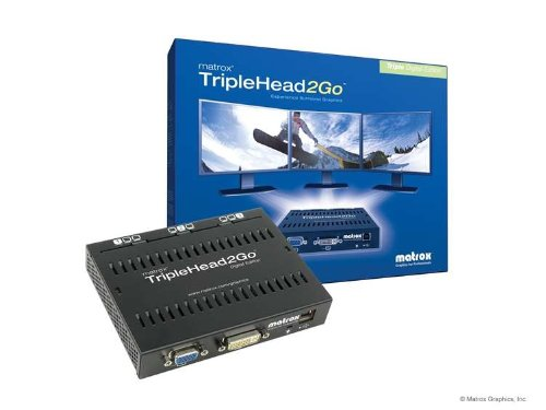 Price comparison product image Matrox TripleHead2Go Three-Monitor Graphics Expansion - Digital Edition T2G-D3D-IF
