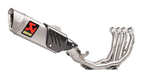 (08-18 YAMAHA YZF-R6: Akrapovic Racing Full System Exhaust (Race/Titanium))
