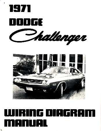amazon com 1971 dodge challenger wiring diagrams schematics automotive rh amazon com 1970 dodge challenger wiring diagram 1972 dodge challenger wiring diagram