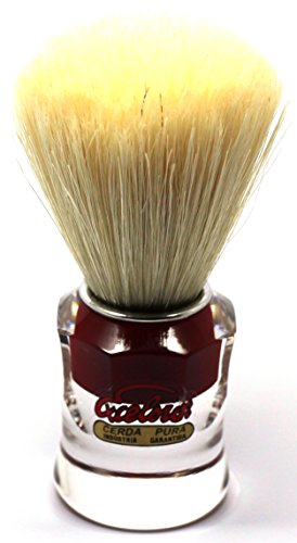 Semogue 820 Pure Bristle Shaving Brush with Red Handle by Semogue Excelsior ()